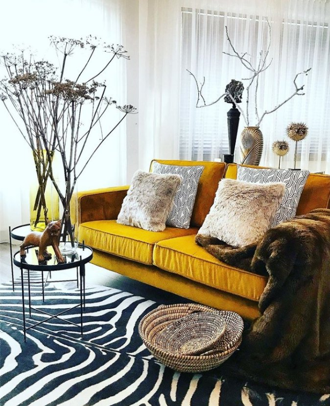 Would you try a maximalist living room?