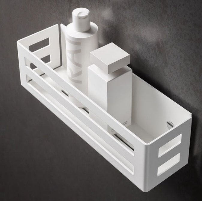 Accentuate Your Bathroom with These Elegant yet Functional Shower Baskets & Shelves