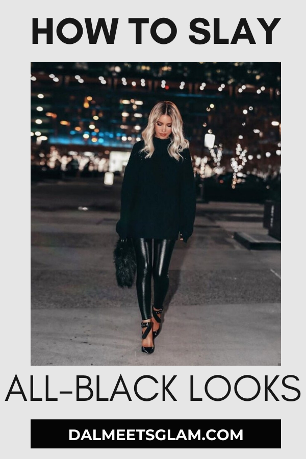 How to Slay Your Look in All-Black like Shanda Rogers
