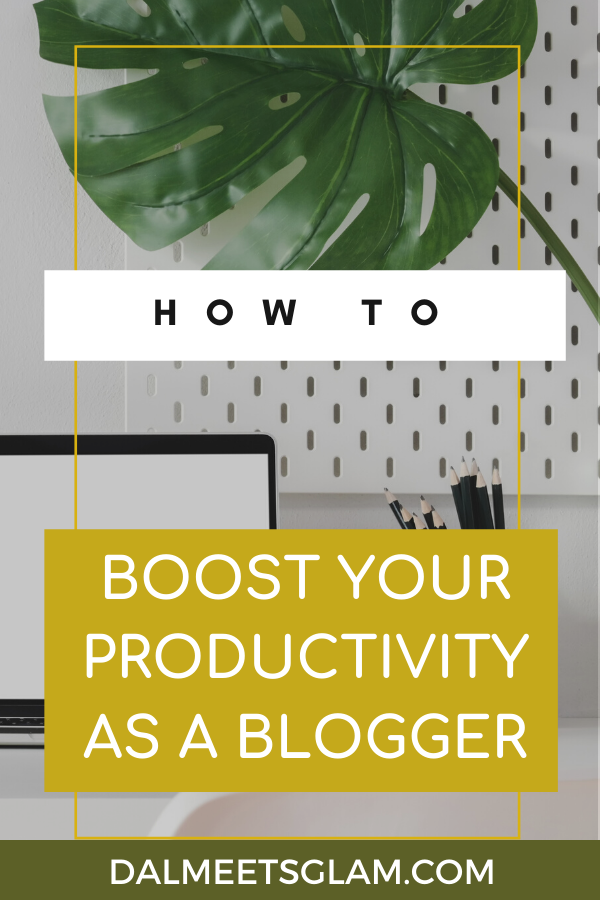 Boost Your Productivity as a Blogger
