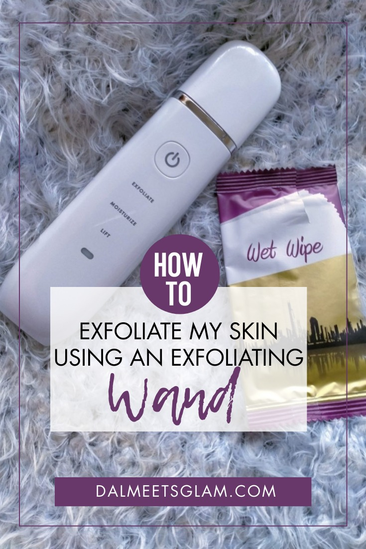 This Exfoliating & Lifting Wand Became a Game Changer For My Face