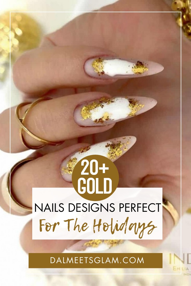 20 Gold Nail Designs Oh-So Perfect For The Holidays