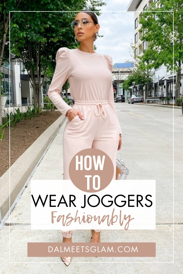 How To Wear Joggers Fashionably